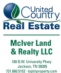 United Country McIver Land & Realty, LLC. logo