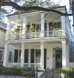 Captivating Front View. Front View. A New Orleans Bed And Breakfast.