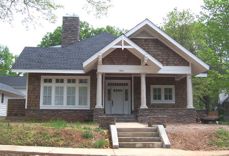 Old house archives built in 2000 or later for Craftsman home builders charlotte nc