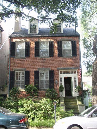 1850 Georgian Colonial In Savannah Georgia Oldhouses Com