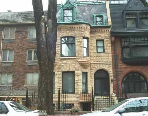 1892 Brownstone Row House In Chicago Illinois
