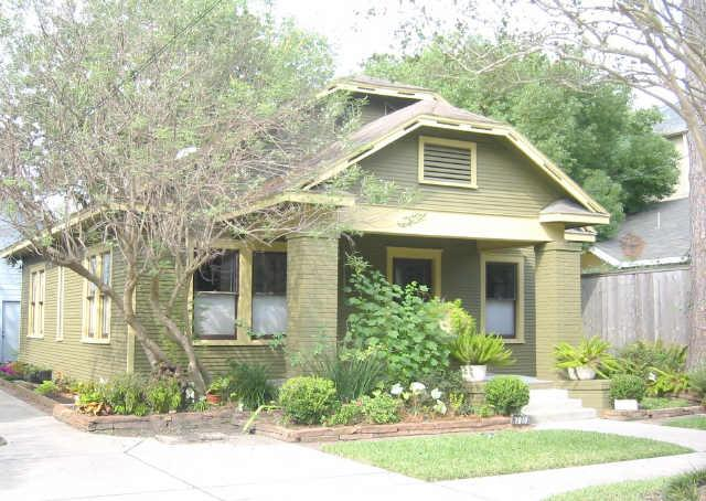 1930 Craftsman Bungalow In Houston Texas
