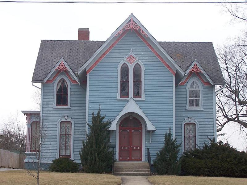 1870 gothic revival in galva illinois for Gothic revival homes for sale