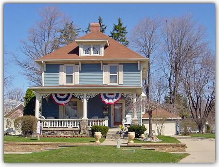 1912 American Foursquare photo