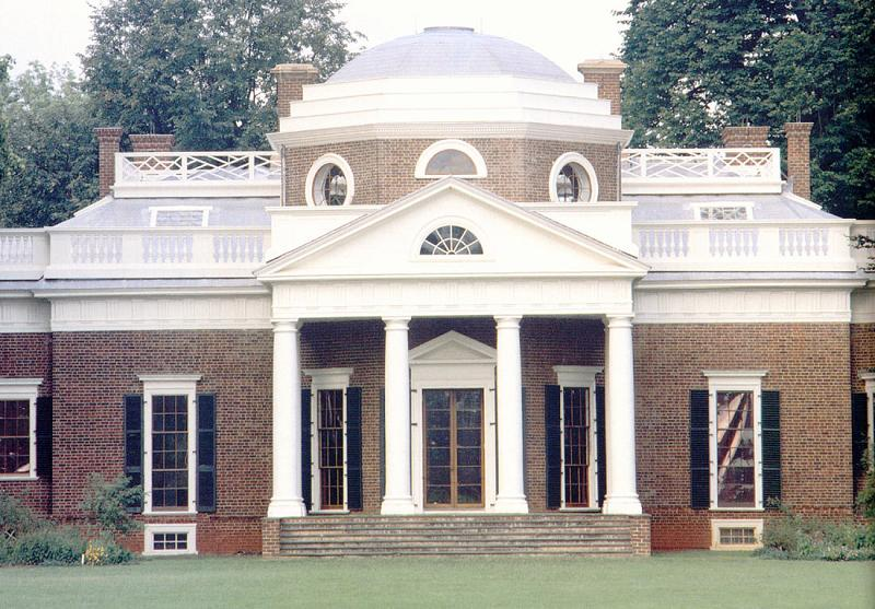 1823 Early Classical Revival in Charlottesville Virginia