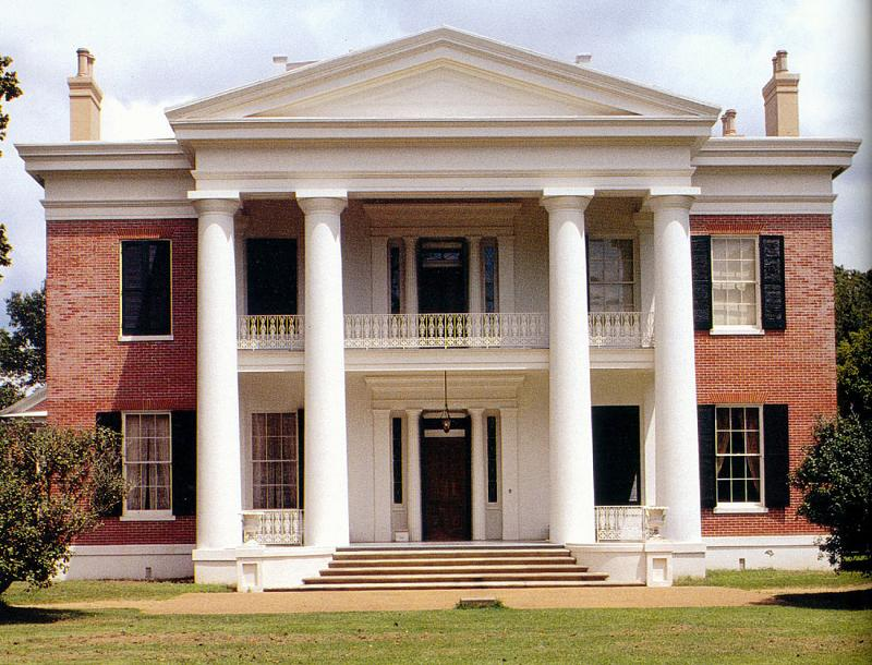 Wondrous C 1845 Greek Revival In Natchez Mississippi Oldhouses Com Complete Home Design Collection Papxelindsey Bellcom