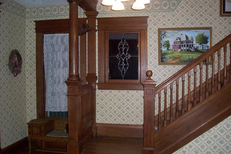 Victorian Foyer Xl : Victorian in lancaster kansas oldhouses