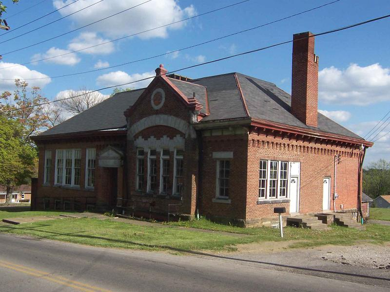 1869 School Building In Mansfield Ohio Oldhouses Com