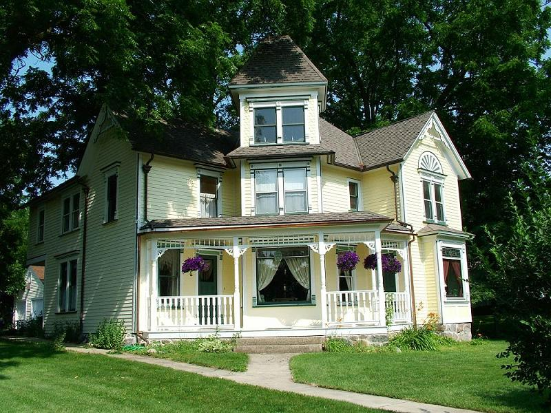 1893 victorian queen anne in richmond illinois oldhouses com rh oldhouses com House Wiring For Dummies House Wiring Diagram Examples