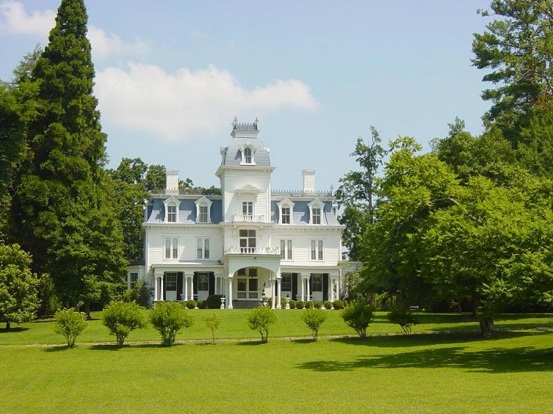 1836 victorian second empire in flat rock north carolina for Second empire homes for sale