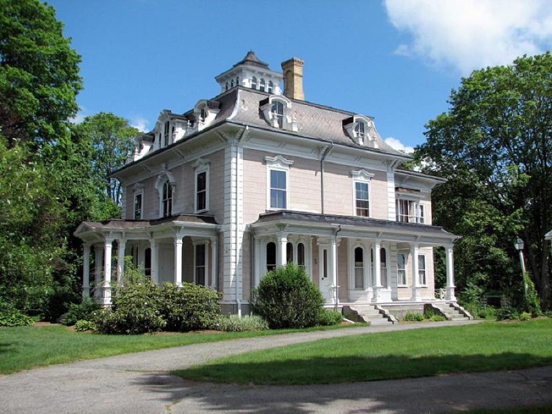 1861 Victorian Second Empire In Wrentham Massachusetts