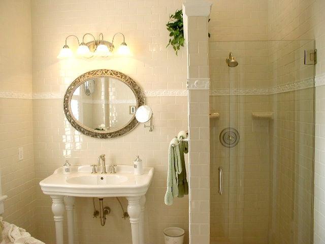 Beautiful Beach Home 128  Beach Style  Bathroom  Wilmington  By Carolina