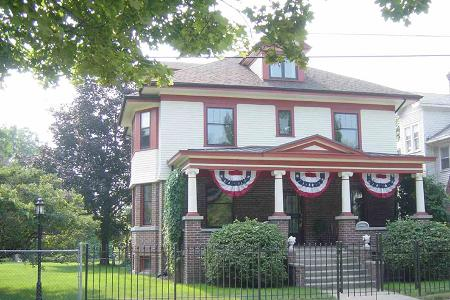1906 American Foursquare photo