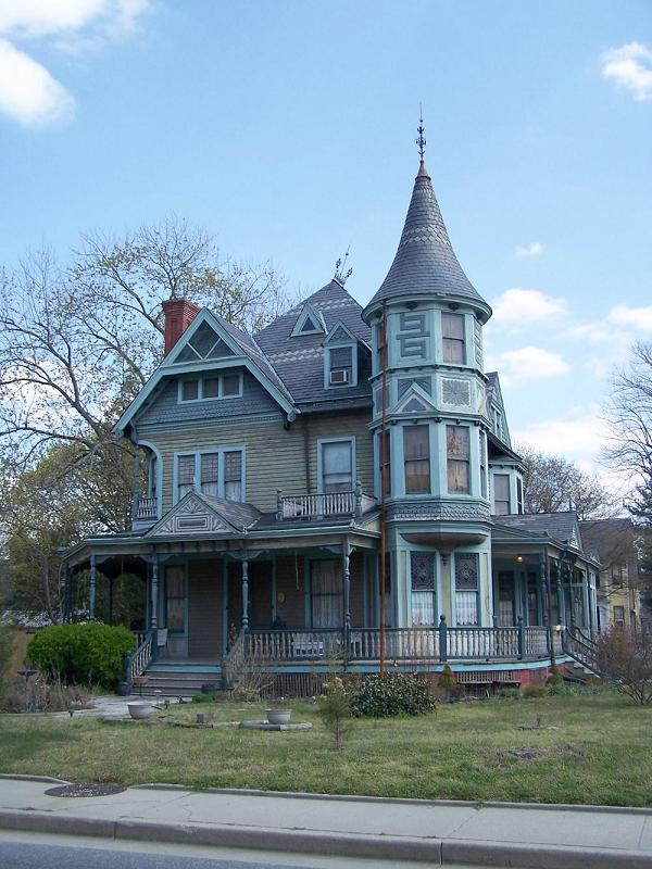 1887 victorian queen anne in salisbury maryland for Old home pictures