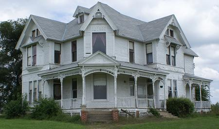 1886 Victorian Twister House Movie Site Follet Mansion