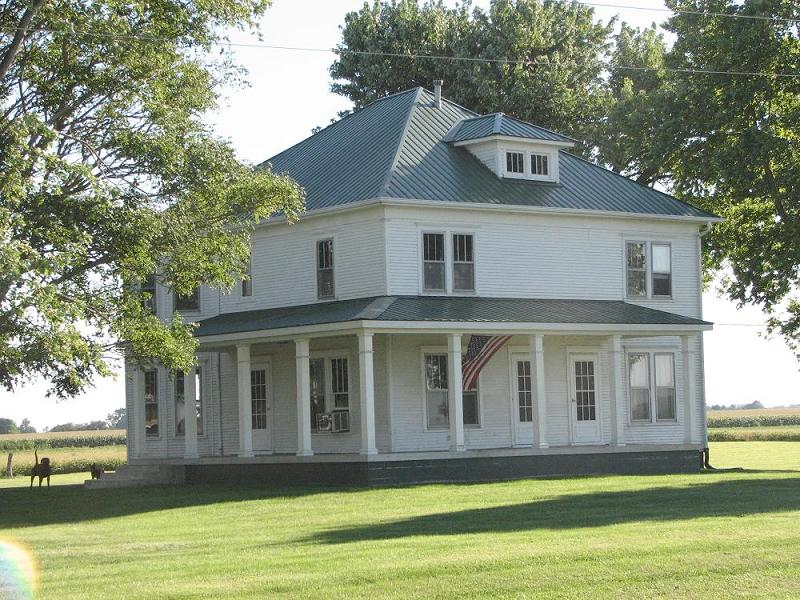 1895 Farmhouse In Paris Illinois Oldhouses Com