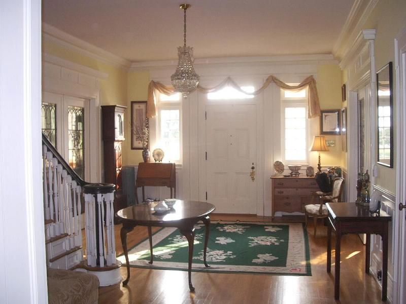 House Foyer Xl : Georgian colonial in westminster maryland