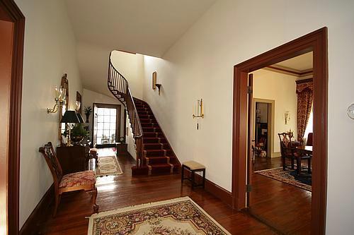 House Foyer Xl : C greek revival in mooresville north carolina