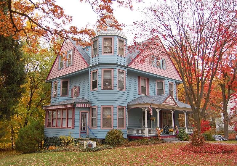 1893 victorian queen anne in boonton new jersey for New victorian homes