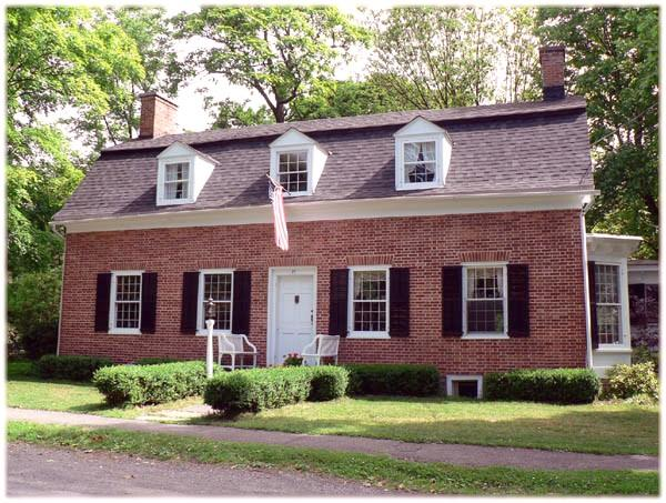 dutch colonial home c 1728 colonial in kinderhook new york oldhouses 11519