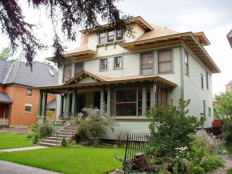 C 1907 American Foursquare In Durango Colorado