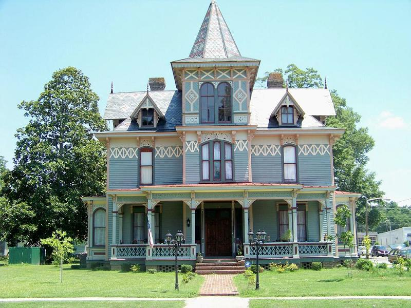 1882 victorian eastlake in scotland neck north carolina - House with swimming pool for sale scotland ...
