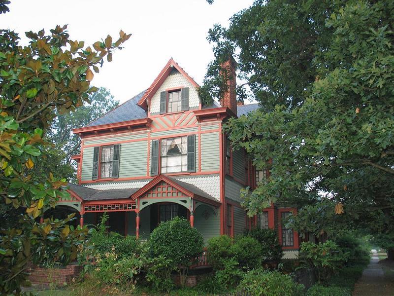 C 1879 Victorian Eastlake In Tarboro North Carolina