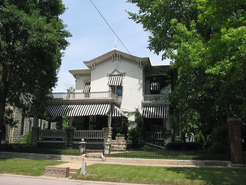 1878 italianate in monmouth illinois for Italianate homes for sale