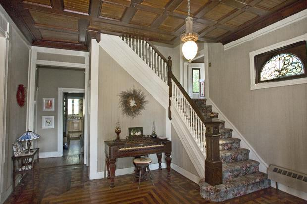 House Foyer Xl : Victorian queen anne in atlantic highlands new
