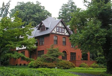 1900 Tudor Revival Victorian Era Mansion With Carriage