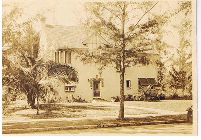 Old Photo Of Home
