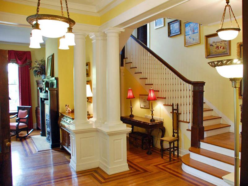 House Foyer Xl : Georgian colonial in manning south carolina