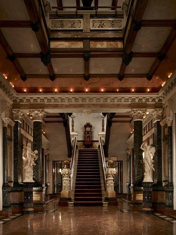 Driehaus museum main hall