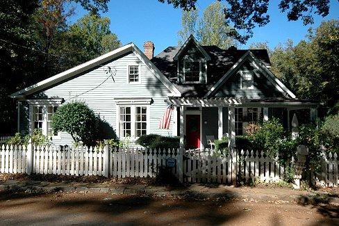 The J. Isaac Wright House in Historic Roswell Ga