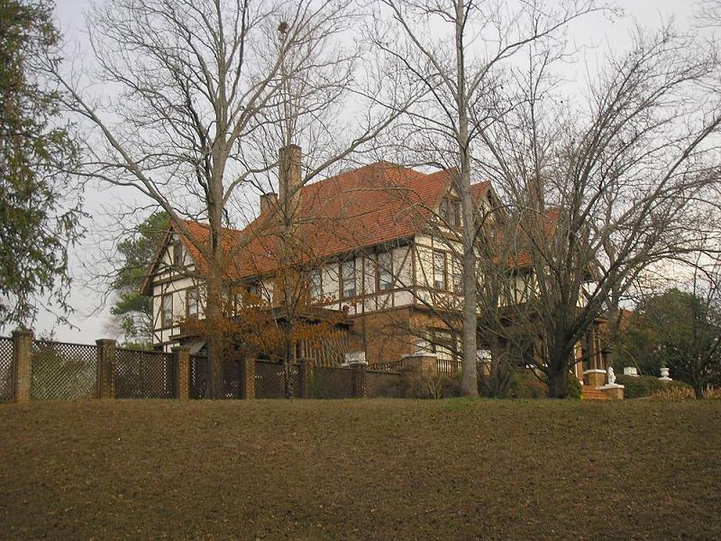 1900 Tudor Revival In Meridian Mississippi Oldhouses Com