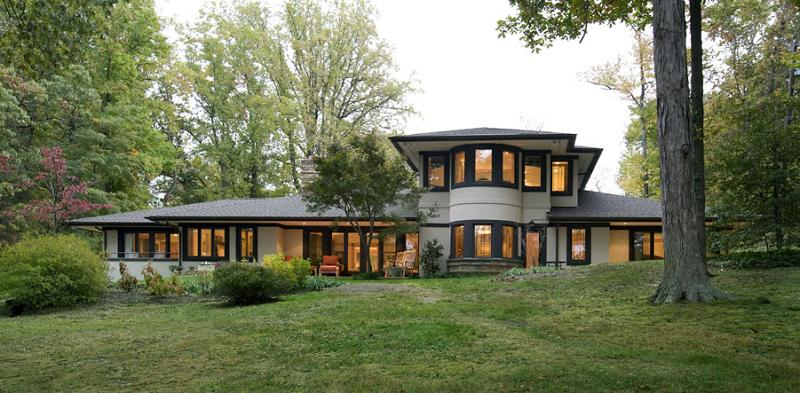 Frank Lloyd Wright Inspired Prairie Style Home Magnificent