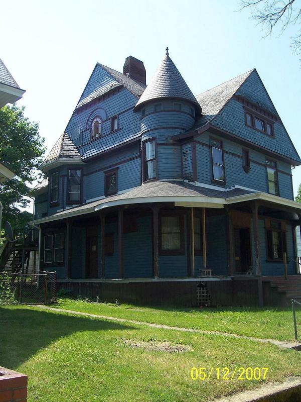 1893 Victorian: Queen Anne in Uniontown, Pennsylvania - OldHouses com
