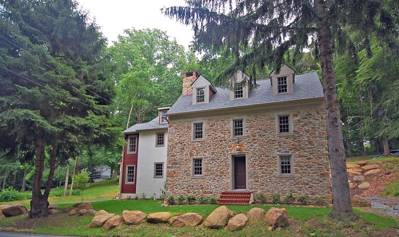C 1800 Farmhouse In Newtown Square Pennsylvania