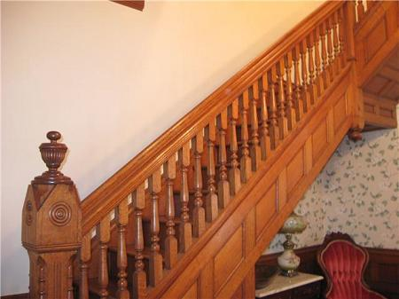 Beautiful Millwork Staircase