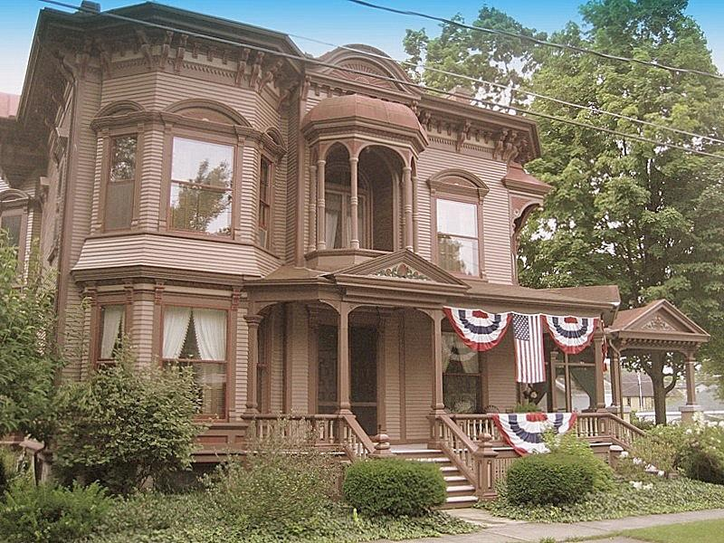 1877 Victorian In Weedsport New York Oldhouses Com