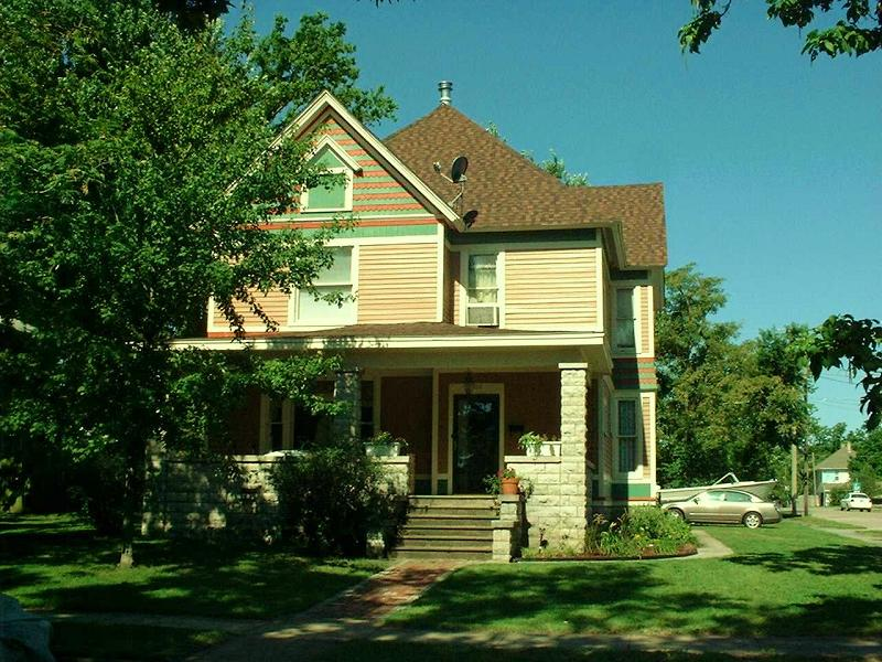 C 1891 Victorian In Webb City Missouri Oldhouses Com