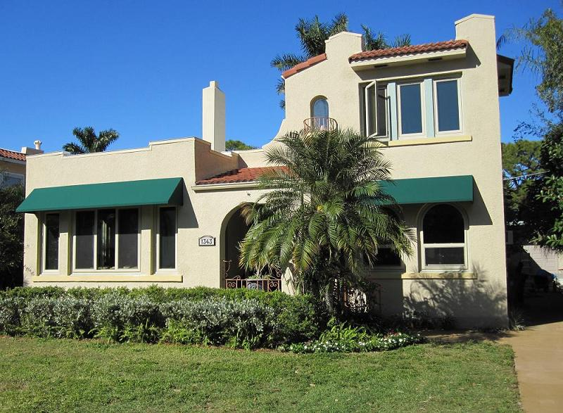 C 1925 Spanish Eclectic In Fort Myers Florida