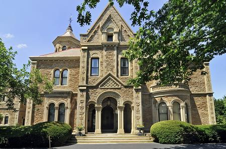 OldHousescom 1864 Castle Oakwood in Cincinnati Ohio