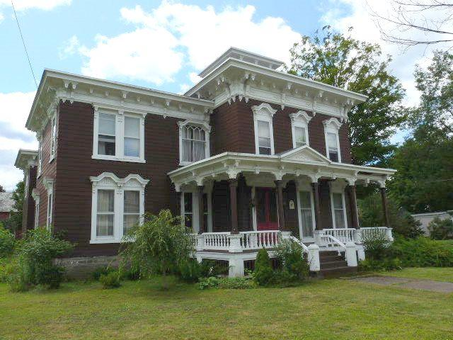 C 1860 italianate in camden new york for Italianate homes for sale