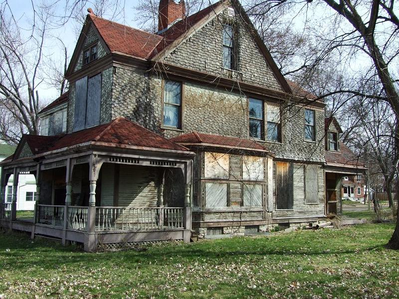 C 1890 Victorian Queen Anne In Quincy Illinois