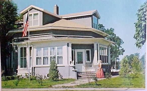 1856 octagon round in fond du lac wisconsin for Home builders fond du lac wi