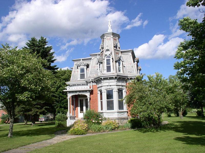 1879 Victorian Second Empire In Vassar Michigan Oldhouses Com