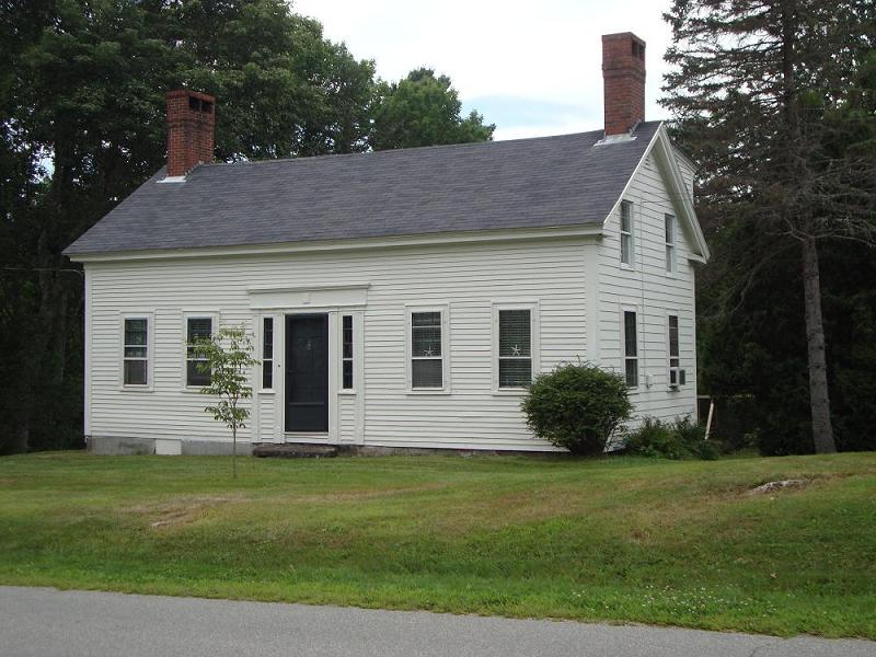 C 1850 Cape Cod In Nobleboro Maine Oldhouses Com