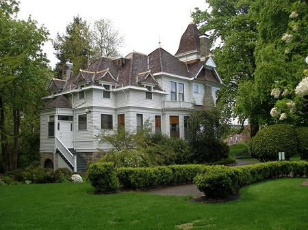 1894 Victorian Second Empire Historic Deepwood Estate