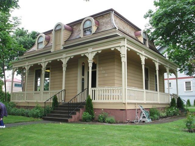 1866 victorian second empire in vancouver washington for Second empire homes for sale